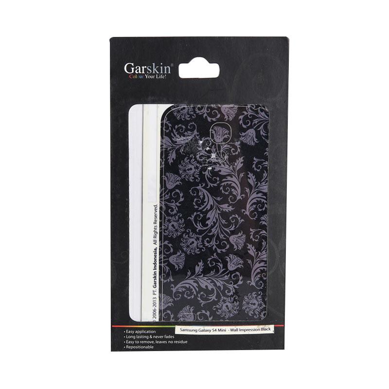 Garskin Wall Impression Black Skin Protector for Samsung Galaxy S4 mini