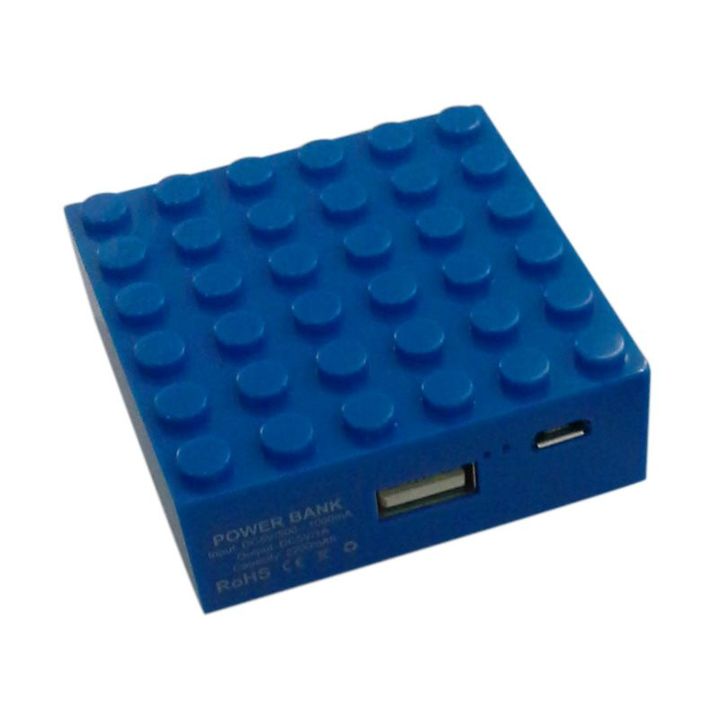 Garyman Office Block Blue Powerbank [2200 mAh]