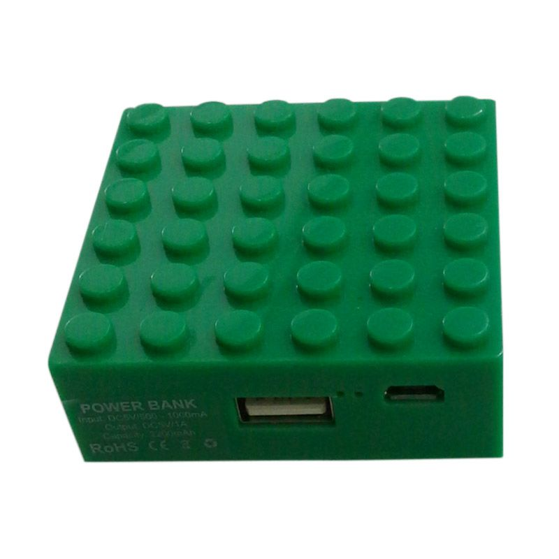 Garyman Office Block Green Powerbank [2200 mAh]