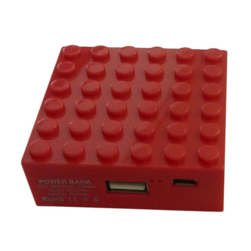 Garyman Office Block Red Powerbank [2200 mAh]