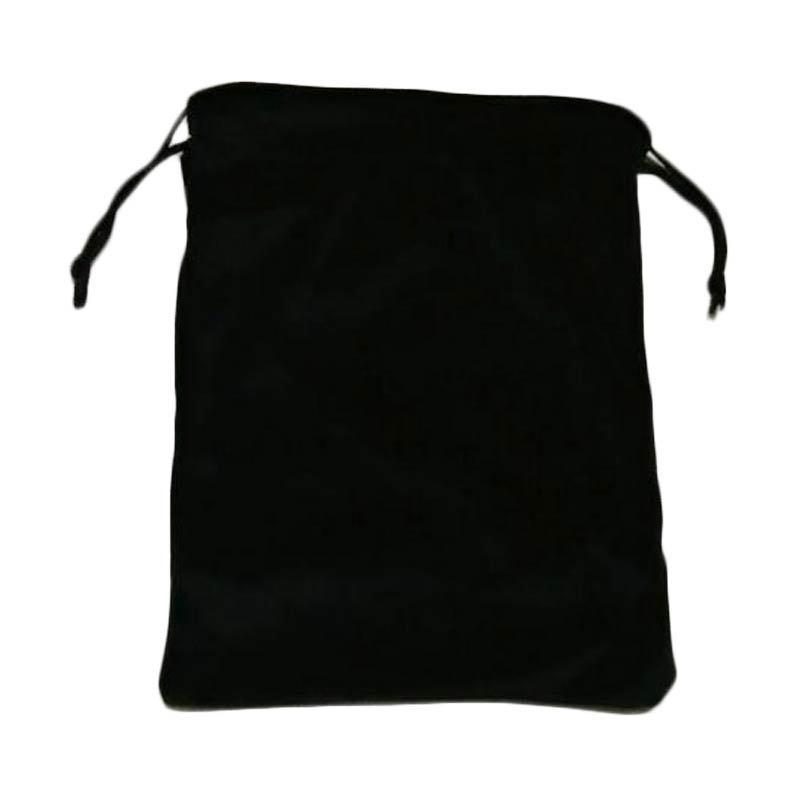 ESA Black Velvet Headphone Pouch