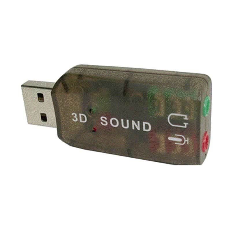 ESA USB DSP 5.1 Mono Channel External Sound Card Adapter