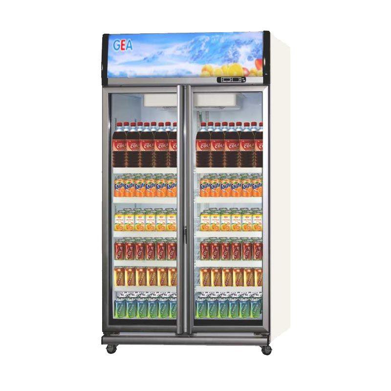 GEA EXPO-1050AH/CN Showcase Display Cooler [1050L] - Putih