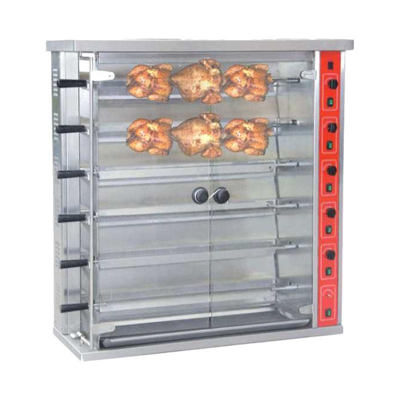 GEA/GETRA/RSA Gas Rotisseries HGJ-6P Alat Panggang