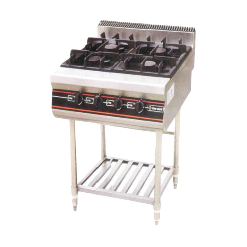 GETRA RBD-4 Gas Open Burner with Stand - [Khusus JABODETABEK]