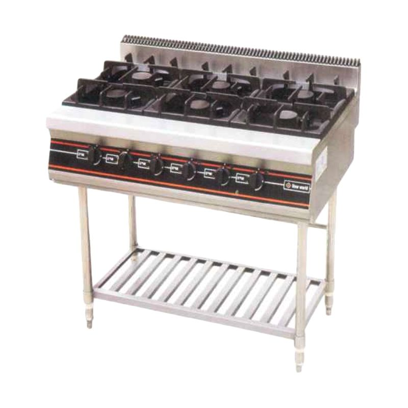 GETRA RBD-6 Gas Open Burner with Stand