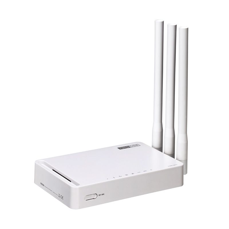 TOTOLINK N302R Plus Wireless N 300Mbps WiFi Router/Repater/AP with 3*5dBi Antennas