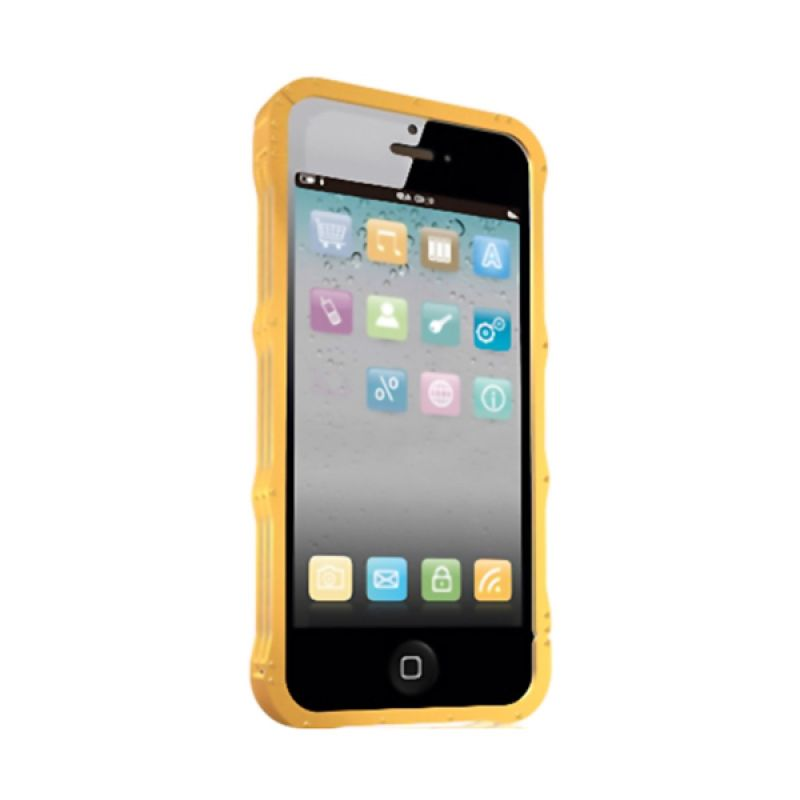 ICY BOX Metal Frame IB-i052 Gold Casing for iPhone 5 or 5S