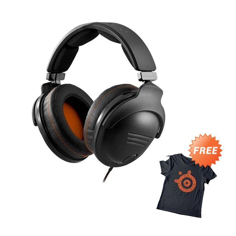 Steelseries 9H New Black Headset + T-Shirt
