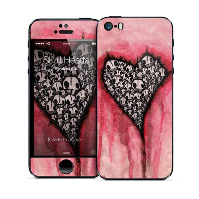 Gelaskins Skull Hearts iPhone 5
