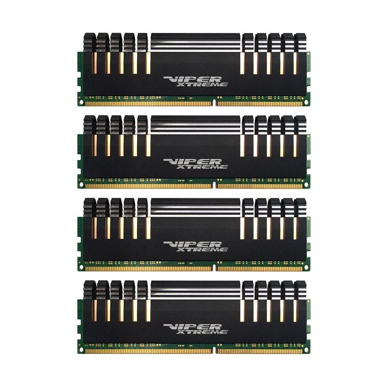 Patriot Memory DDR4 16 GB PX416G266C5QK Komponen [4 x 4 GB]