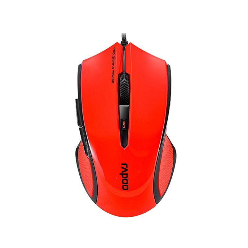 RAPOO VPRO V20 Red Gaming Mouse