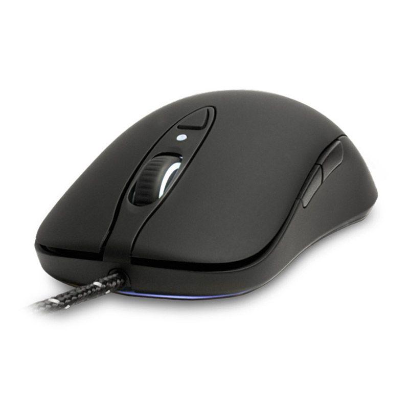 Steelseries Mouse Sensei Raw Rubber - Hitam