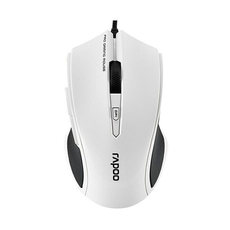 RAPOO VPRO V20 White Gaming Mouse