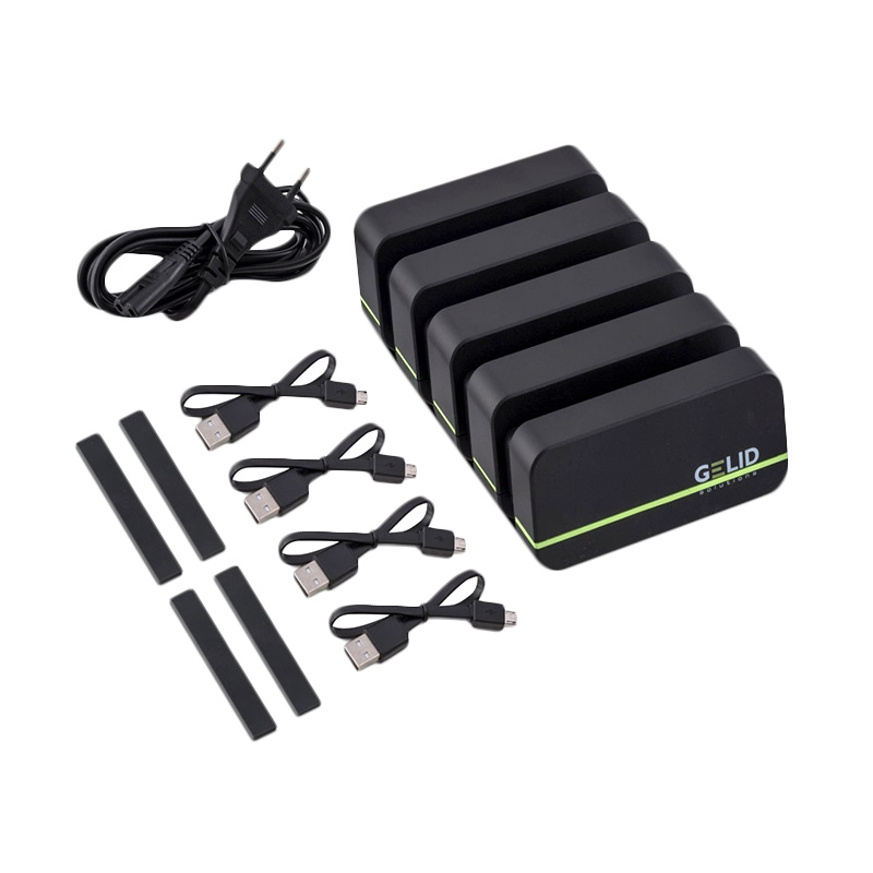 Gelid Fourza Universal Charger - Hitam