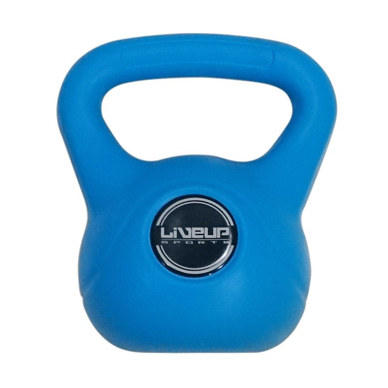 Liveup Sports Blue Kettle Dumbbell Alat Fitness [3 kg]