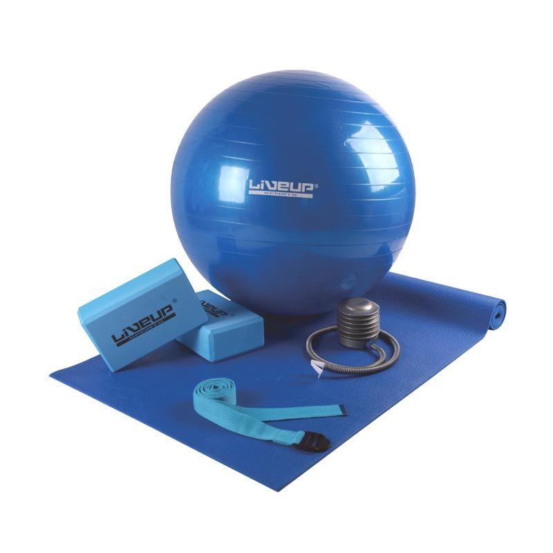 Liveup Sports LS 3243 Biru Yoga Set