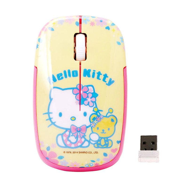 Generic Hello Kitty Flower Bear Wireless Mouse