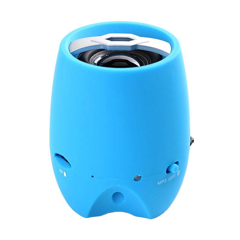 Generic USB Music Player Premium Y-18 Biru Speaker Bluetooth