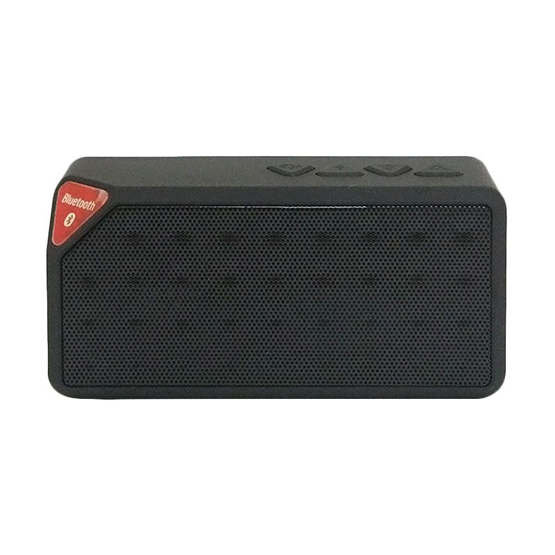 Generic X-Box X3 Hitam Speaker Bluetooth