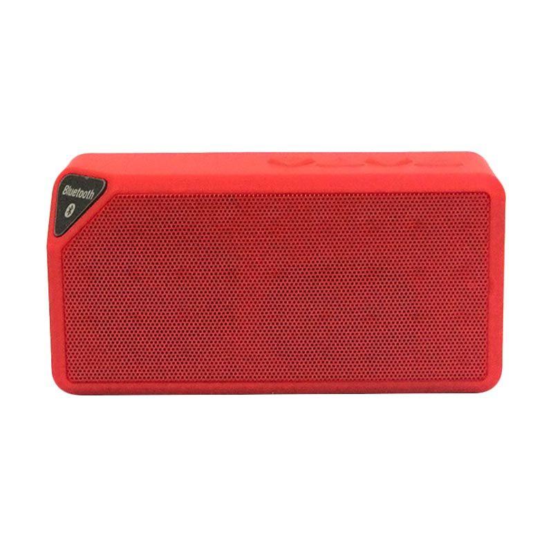 Generic X-Box X3 Merah  Speaker Bluetooth