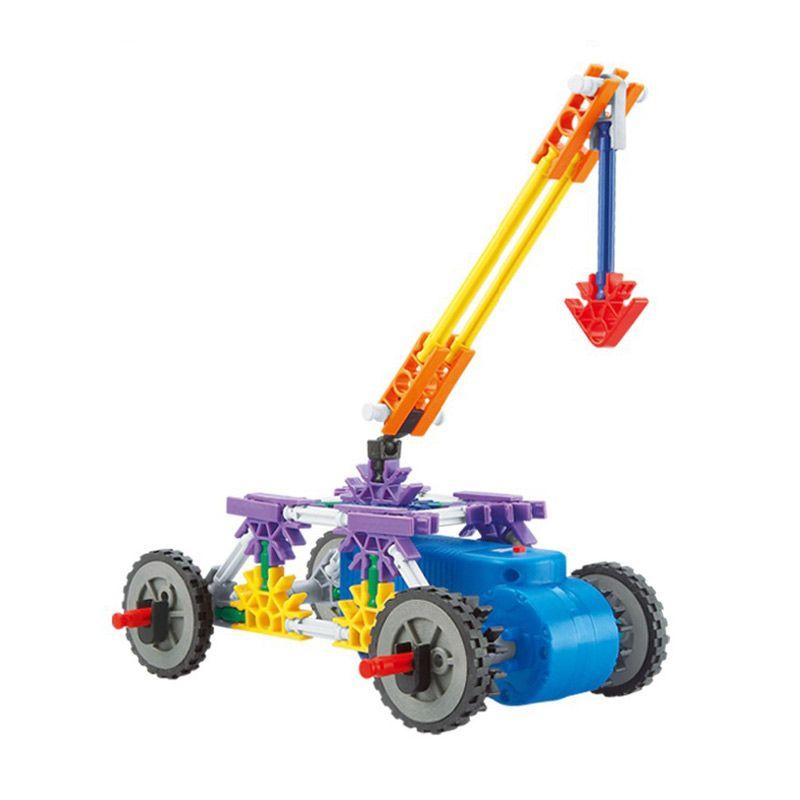 Genius Block G9098C Crane Mainan Blok & Puzzle