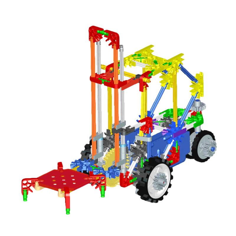 Genius Blocks G8028C Lift Truck Mainan Blok & Puzzle