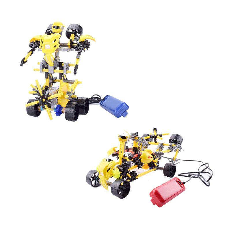 Genius Blocks G9007A Aouis Robot Mainan Blok & Puzzle