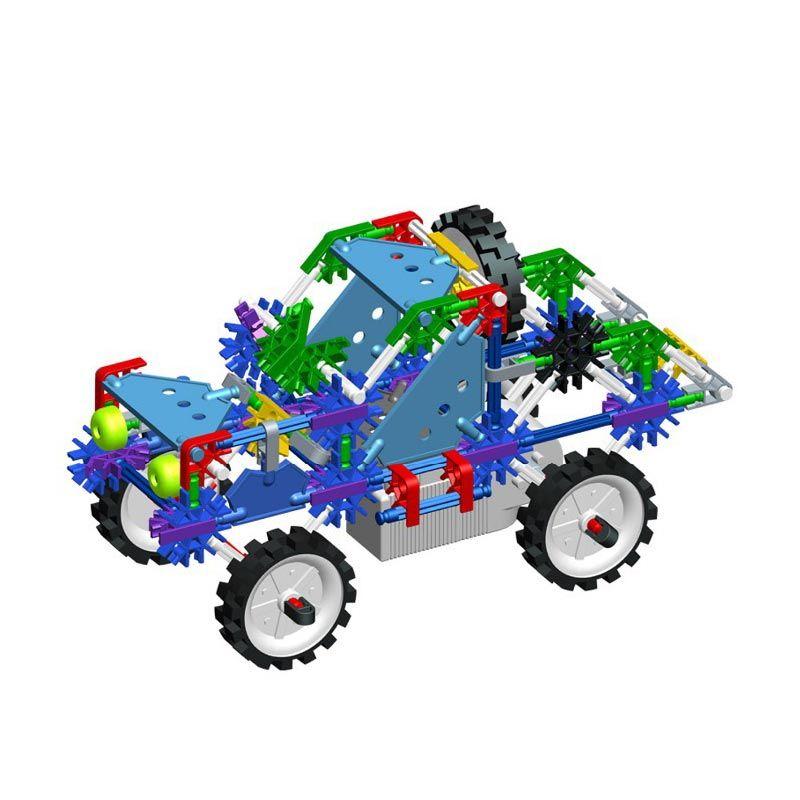 Genius Blocks G9058B Hummer Car Mainan Blok dan Puzzle
