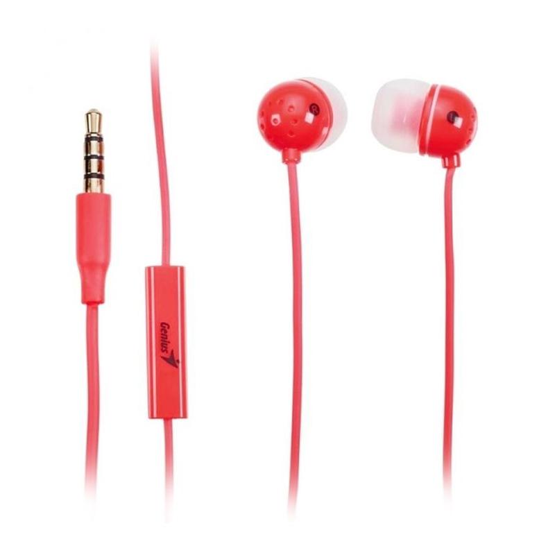 harga Genius HS-M210 Earphone - Merah Blibli.com