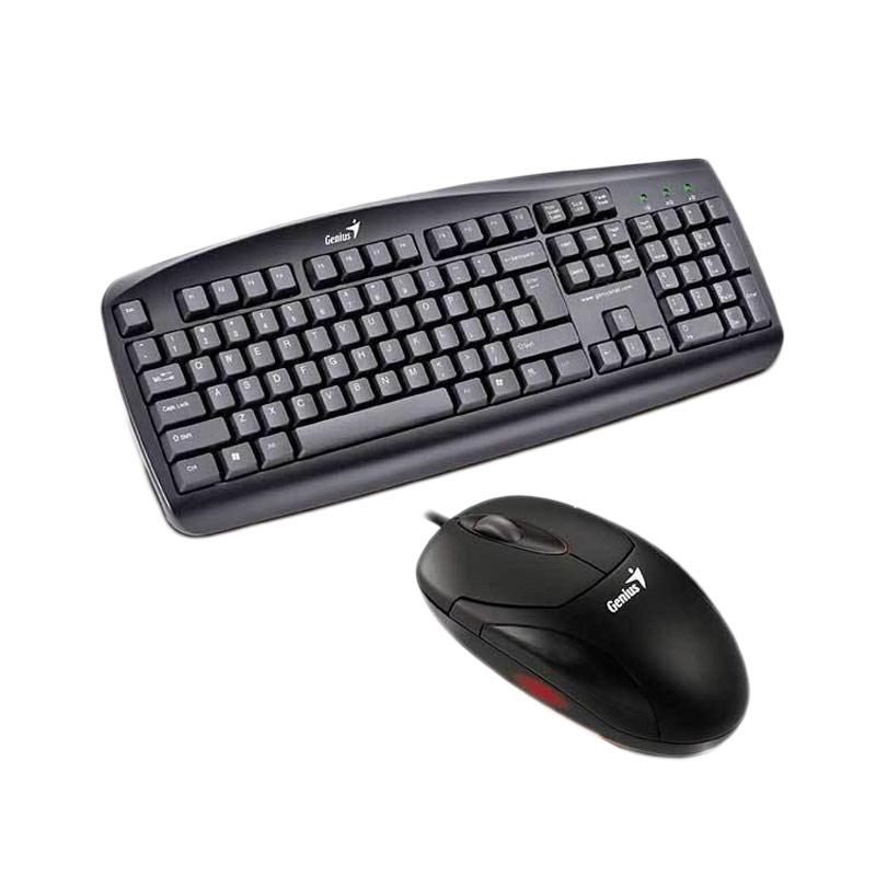 Genius KB 110 USB Keyboard and DX 125 USB Mouse [Paket]