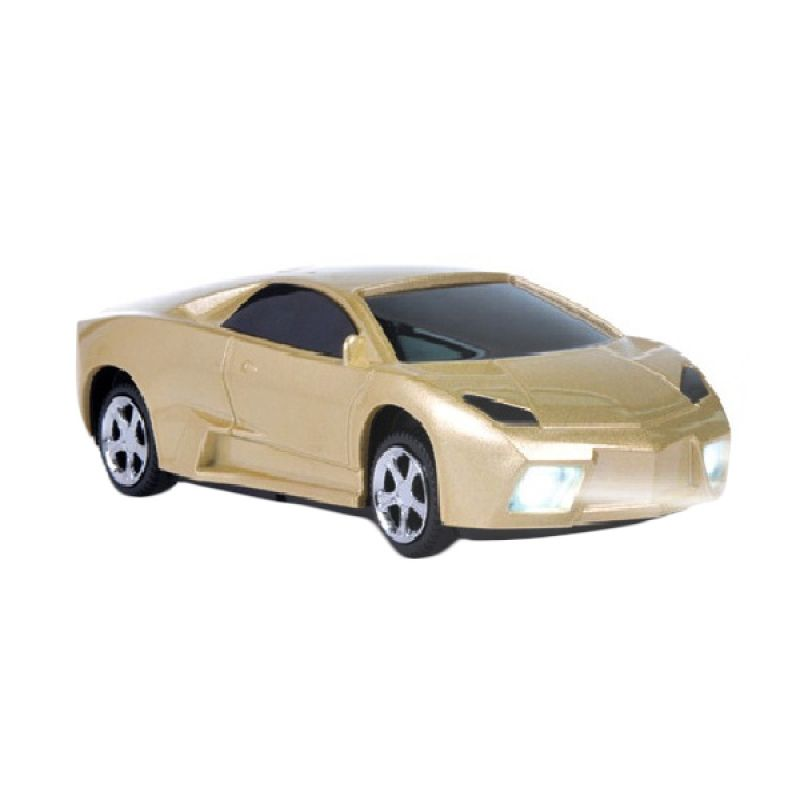 Flux Powerbank Car Shape Lamborghini Model 5600 mAh Gold