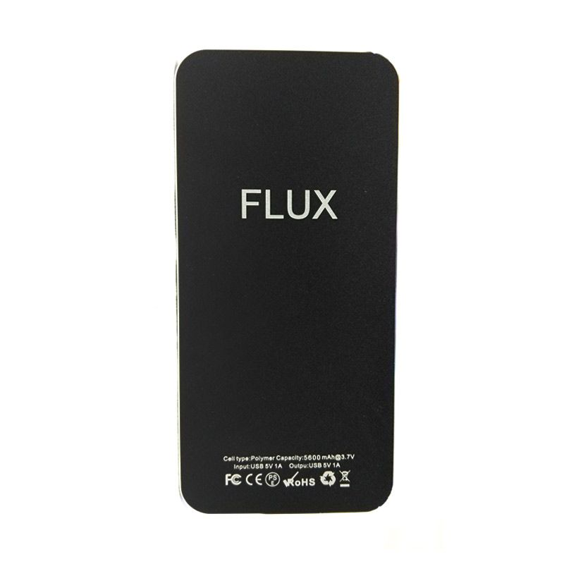 Flux Powerbank iPhone 5600mAh Hitam