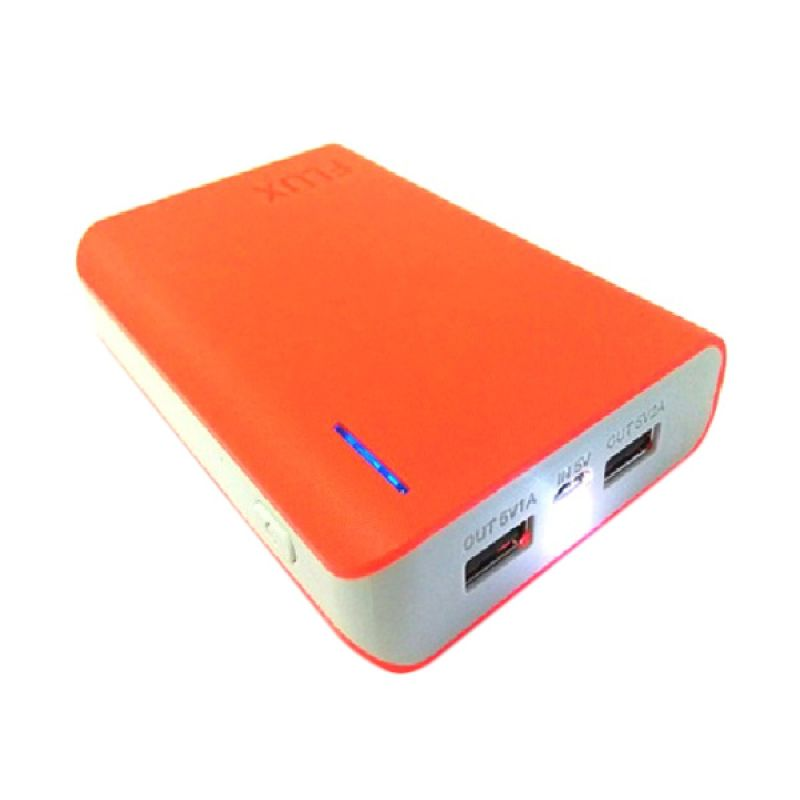 Flux Powerbank Ultima Series 12000 mAh Orange