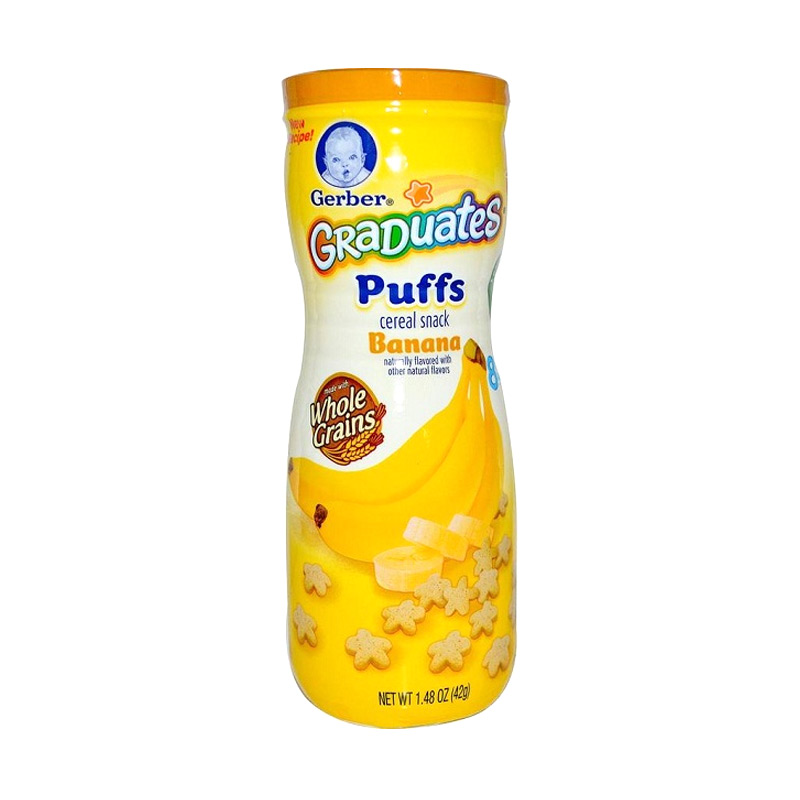 harga Gerber Graduates Puffs Banana Snack Bayi Blibli.com