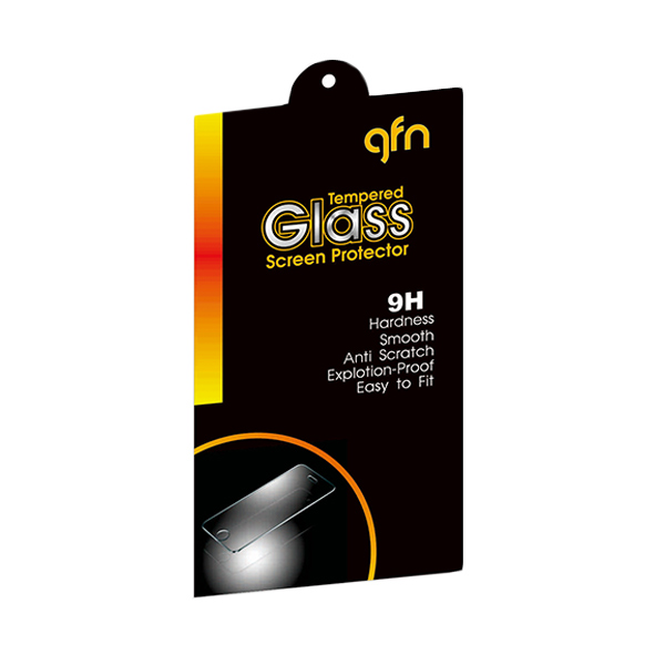 GFN Tempered Glass Screen Protector for Samsung Galaxy A8 [0.3mm/ 2.5D Round/ Anti Gores]