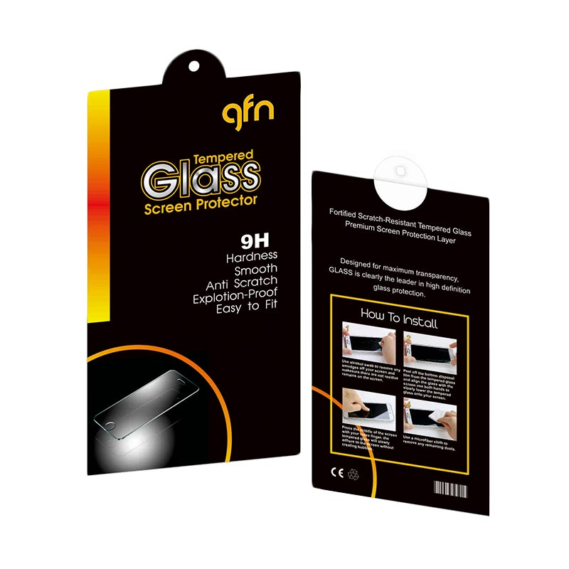 GFN Tempered Glass Screen Protector for Samsung Grand Prime [0.3mm/ 2.5D Round/ Anti Gores]