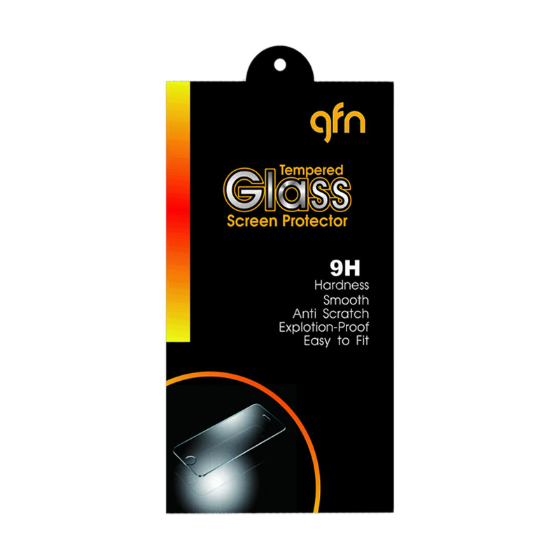 GFN Tempered Glass Screen Protector for Sony Xperia M4 Aqua [0.3mm/ 2.5D Round/ Anti Gores]