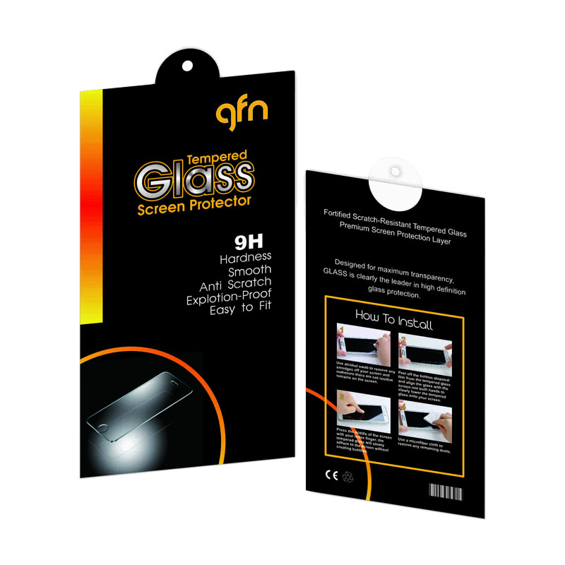 GFN Tempered Glass Screen Protector for Samsung Galaxy J1 [9H/2.5D Round/Anti Gores]