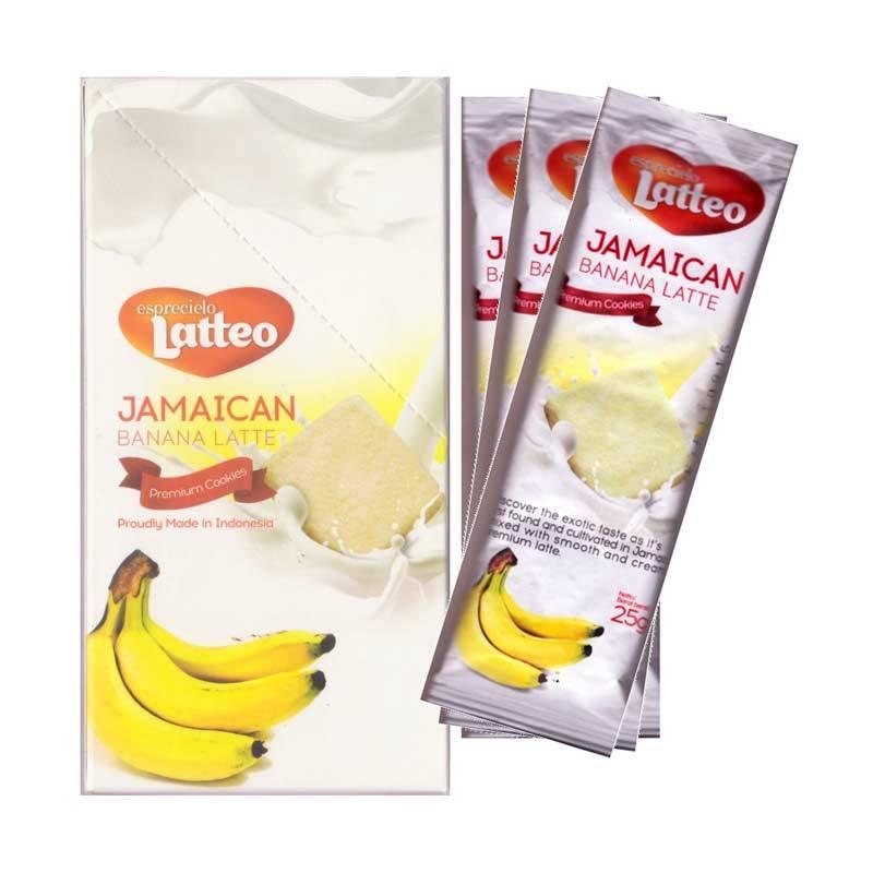 Esprecielo Latteo Premium Cookies Jamaican Banana Latte