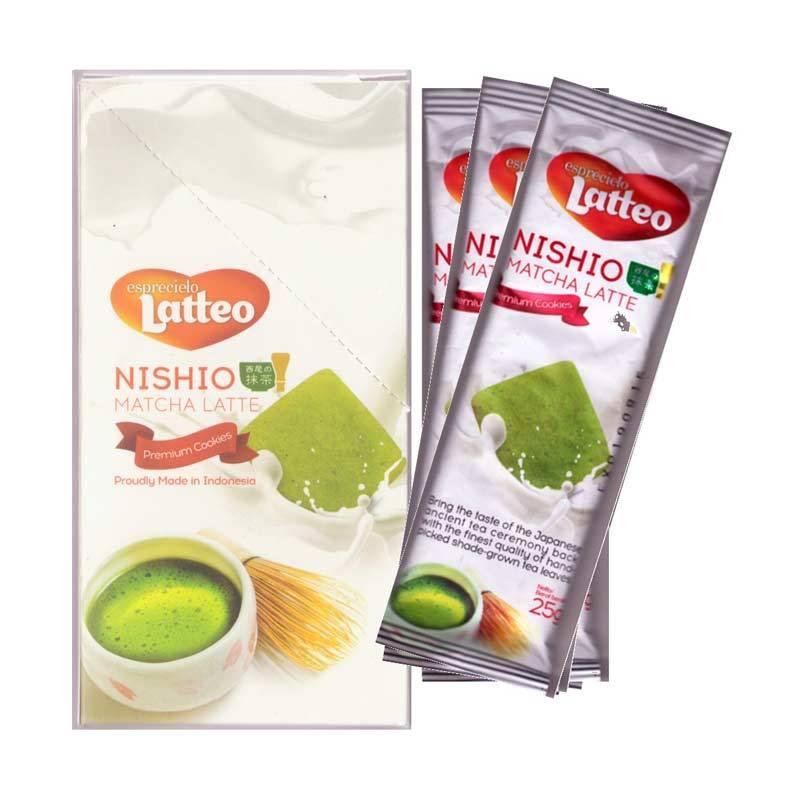 Esprecielo Latteo Premium Cookies Nishio Matcha Latte