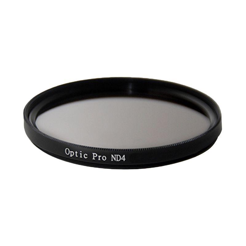 Optic Pro ND04 52mm Hitam Filter Lensa