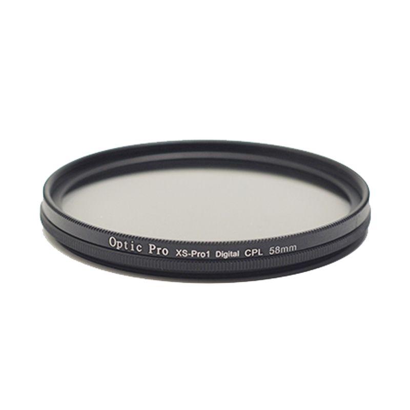 Optic Pro Slim CPL 39mm Hitam Filter Lensa