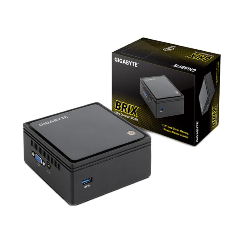 Gigabyte Brix J1900 Mini Desktop PC [QuadCore/2GB/SDD120GB]