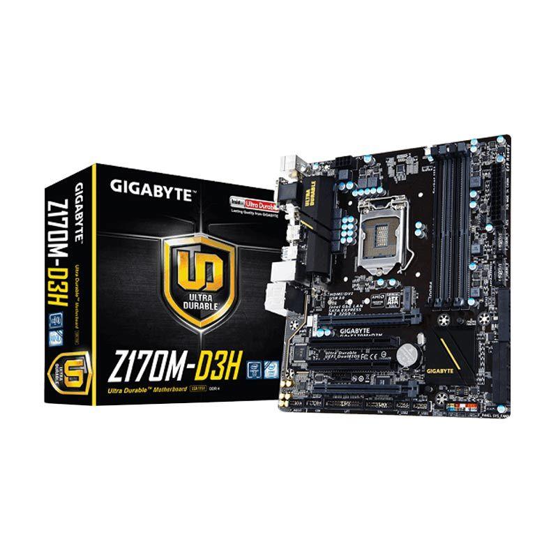 Gigabyte GA-Z170M-D3H Intel Z170 Motherboard [LGA1151/DDR4/corei7/i5/i3]