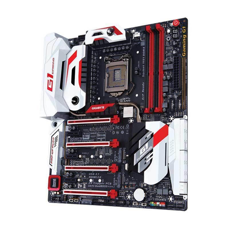 Gigabyte GA-Z170X-Gaming G1 Intel Z170 Motherboard [LGA1151/DDR4/USB3.1/ATX/SLI/CROSSFIRE]
