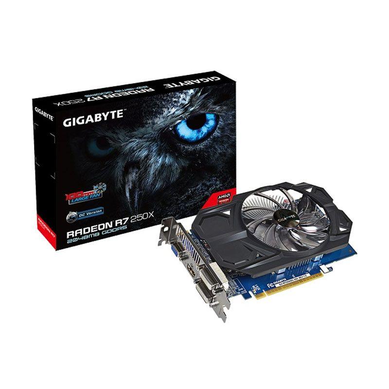 GIGABYTE Radeon GV-R725XOC-2GI VGA R7 250 grapic card [2GB/128BIT/GDDR3]