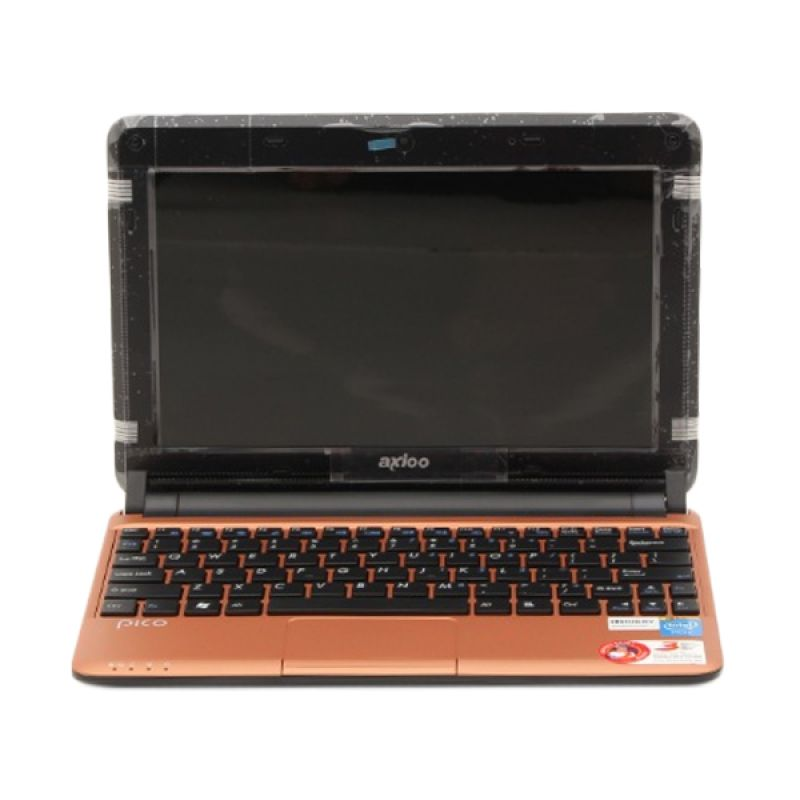 AXIOO CJM D 825 Coklat Netbook [Atom D2500/2 GB/500 GB/10 Inch/Windows 7 Starter]