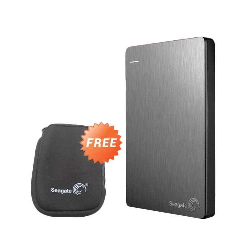 Seagate BackUp Plus Slim Silver Hard Disk [1 TB/2.5