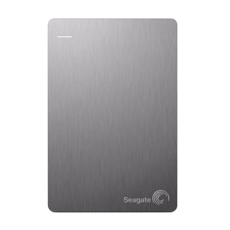 Seagate BackUp Plus Slim Silver Hard Disk Eksternal [2 TB]